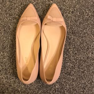 Nine West light pink flat